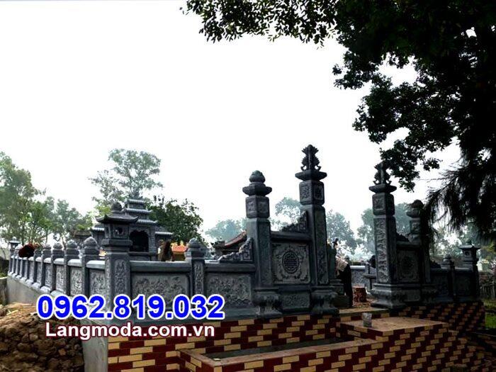 Hàng rào nhà mồ tại Khánh Hòa