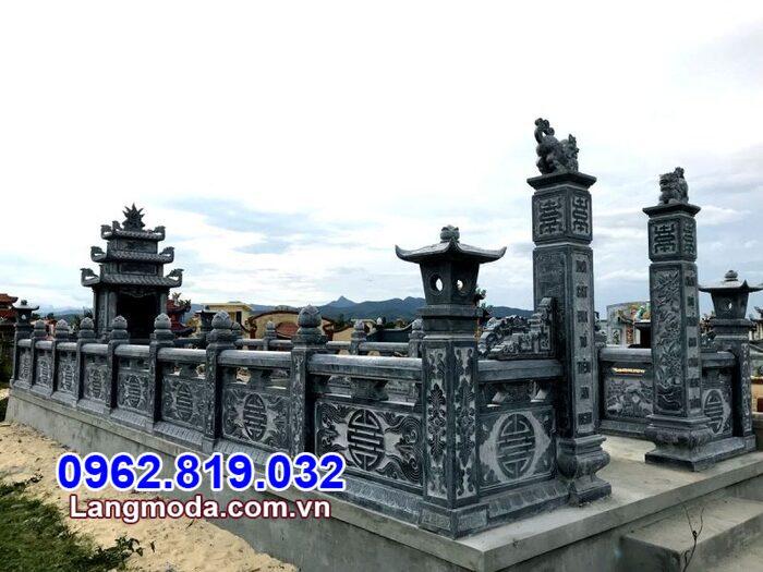 Hình ảnh tường rào bằng đá mẫu đẹp giá rẻ tại Khánh Hòa