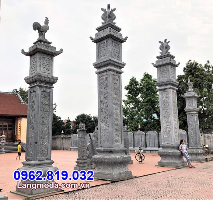 Mẫu cổng đá đẹp được làm bằng đá tự nhên cao cấp tại Hậu Giang