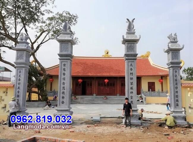 Mẫu cổng tam quan chùa bán tại Phú Yên