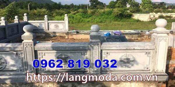 Tường rào nhà mồ tại Vĩnh Long