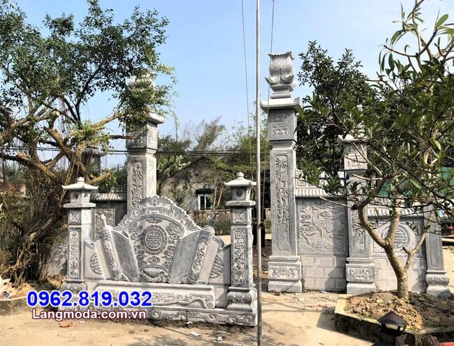 cổng tam quan đá tại Khánh Hoà