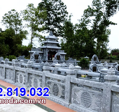 kiểu hàng rào đá nhà mồ bán tại Tiền Giang