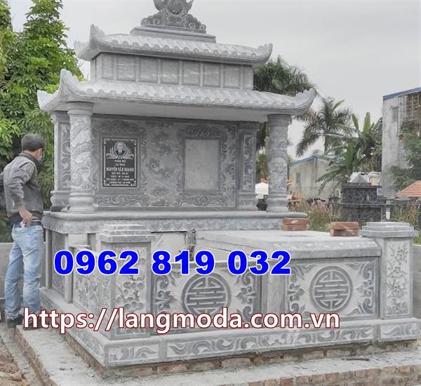 kiểu mộ đá đôi đẹp nhất tại Phú Yên