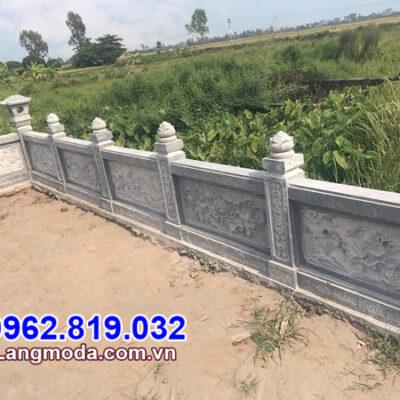 kiểu tường rào đá đẹp được ưa chuộng nhất tại Đồng Nai