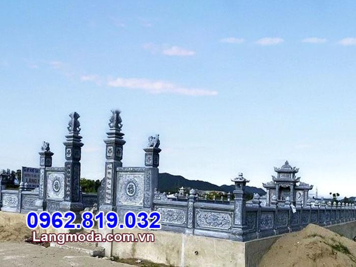lan can nhà mồ tại Khánh Hòa