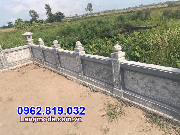 lan can nhà mồ tại Vĩnh Long