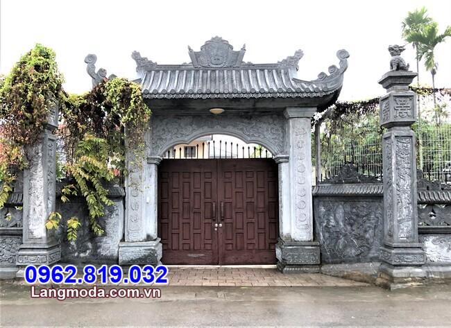mẫu cổng chùa đẹp tại Bình Định