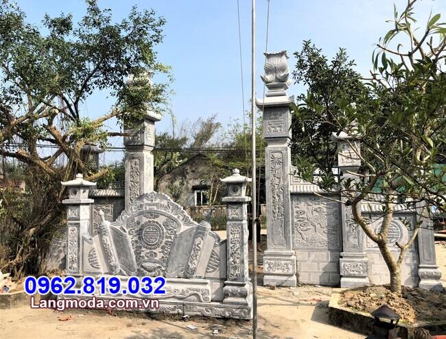 mẫu cổng đá đẹp bán tại Bình Định
