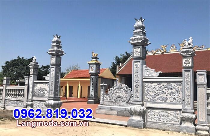 mẫu cổng đá đẹp bán tại Vĩnh Long