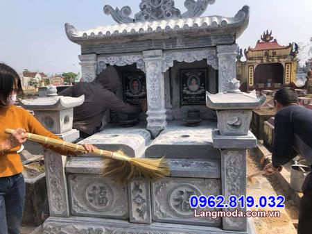 mẫu mộ đôi đẹp mộ đôi đẹp tại Khánh Hoà