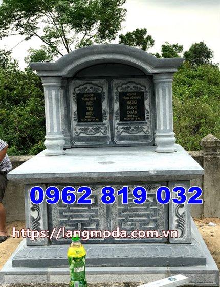 mẫu mộ song thân bằng đá tại Tây Ninh đẹp nhất
