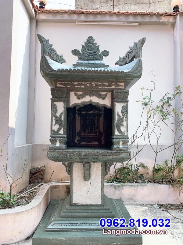 Bàn thờ thiên bằng đá - Mẫu bàn thờ thiên ngoài trời bằng đá đẹp giá rẻ