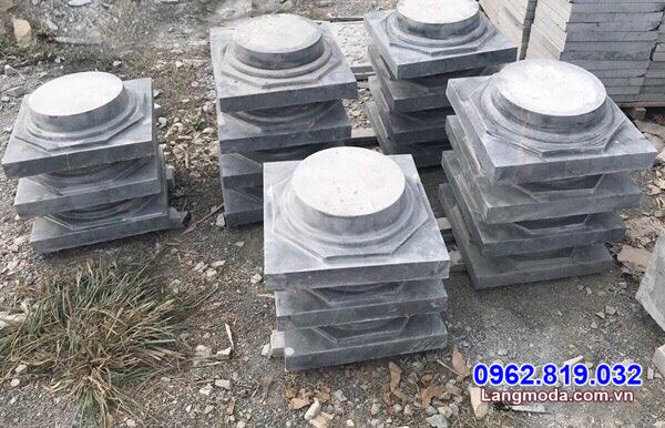 Giá đá kê chân cột nhà gỗ