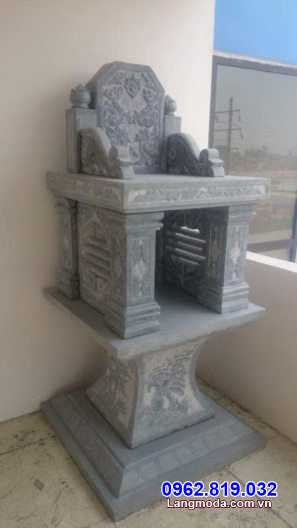 Kích thước bàn thờ thiên ngoài trời bằng đá