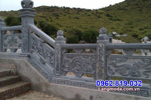 Mẫu lan can đá - Hàng rào đá - Hành lang bằng đá tự nhiên đẹp giá rẻ