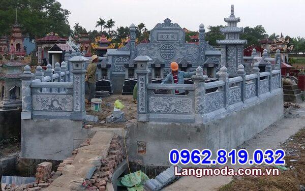 Xây nhà mồ bằng đá tại Kiên Giang