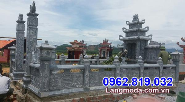 khu mộ gia đình tại Kiên Giang