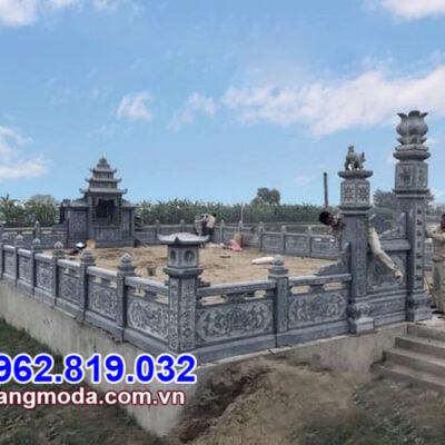 mẫu nhà mồ đá tự nhiên chạm khắc đẹp nhất tại Đồng Tháp