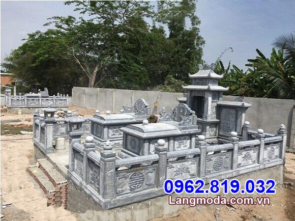mẫu nhà mồ đẹp nhất 2021 được làm bằng đá tại Kiên Giang