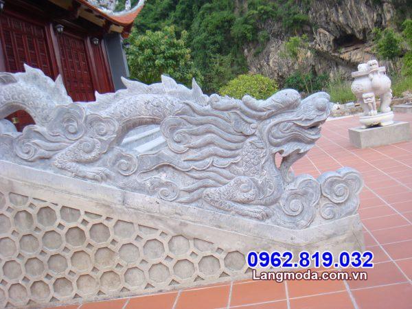 mẫu rồng đá bậc thềm đẹp