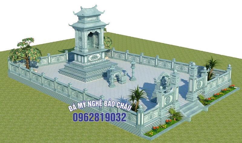 Bản thiết kế lăng mộ 1