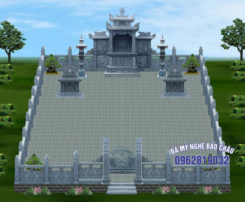 Bản thiết kế lăng mộ 5