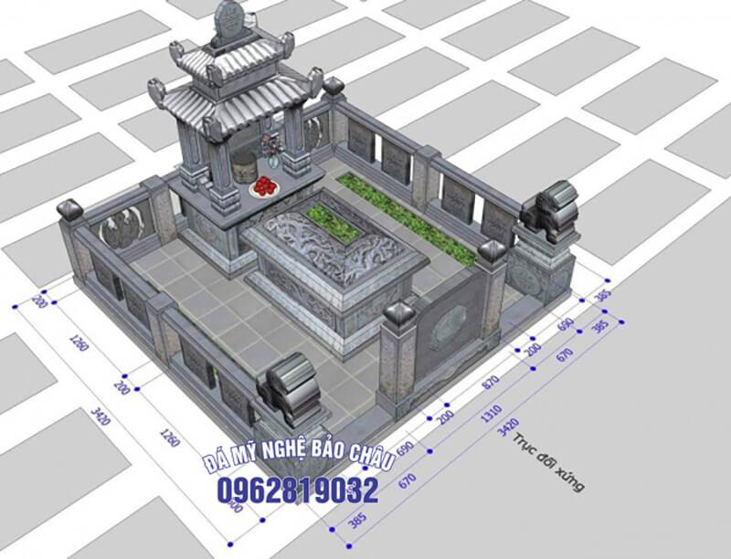 Bản thiết kế lăng mộ 6