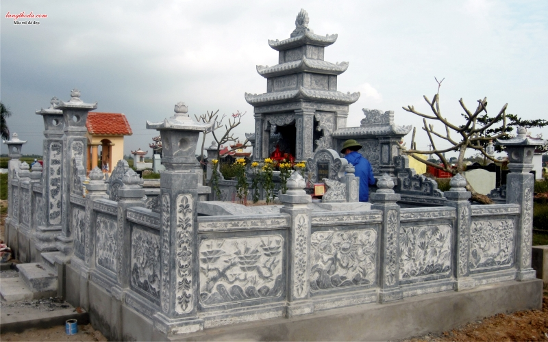 Khu lăng mộ đẹp 1