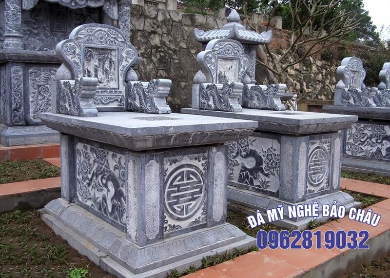 Mẫu mộ nhà mồ đẹp đơn giản 3