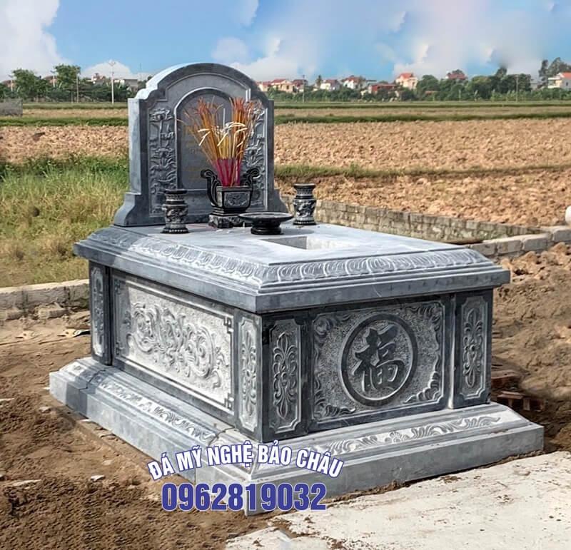 Mẫu mộ nhà mồ đẹp đơn giản 4