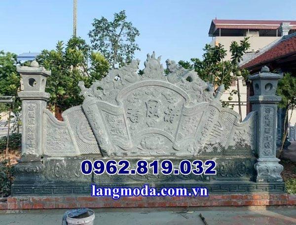 Ý nghĩa cuốn thư bình phong đá trong vắn hóa tâm linh Việt