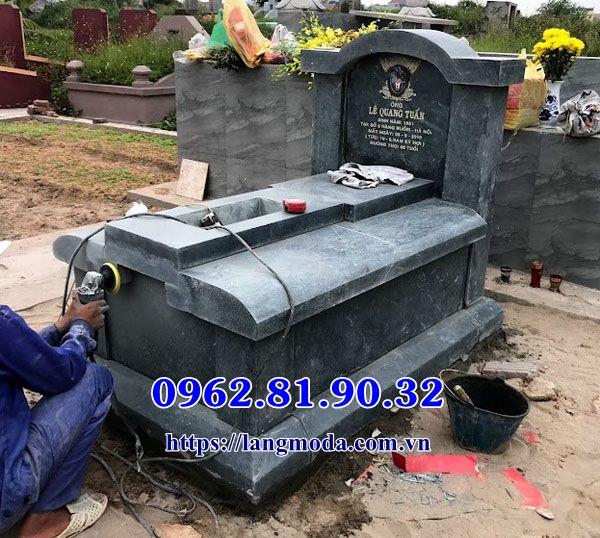 Bán mộ đá xanh tại Bắc Ninh, Mẫu mộ đá xanh đẹp tại Bắc Ninh