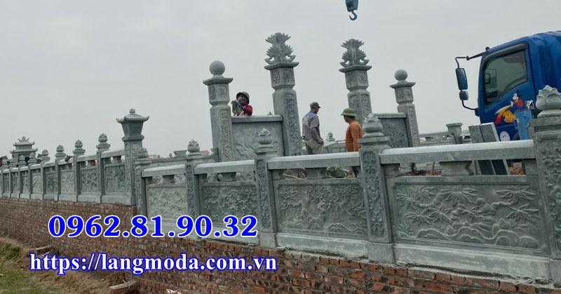 Khu lăng mộ đá xanh tại Bắc Giang - Lăng mộ đá xanh Bắc Giang