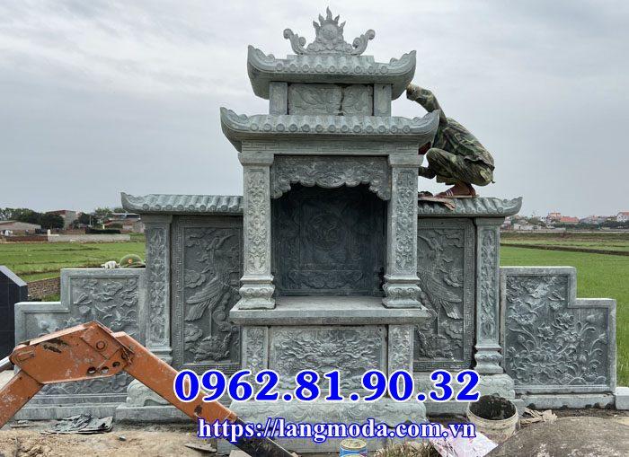 Lầu thờ đá lăng thờ chung tại Bắc Giang