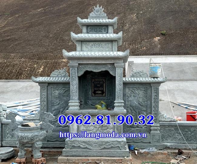 Mẫu lăng thờ đá xanh yên bái - Cây hương đá Yên Bái
